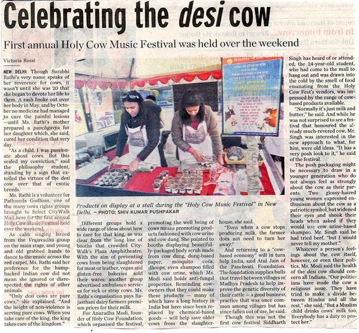 Celebrating The Desi Cow
