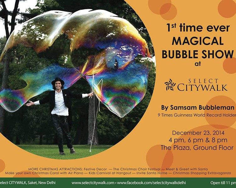 Magical Bubble Show