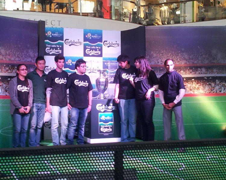 Carlsberg - The UEFA Euro Trophy