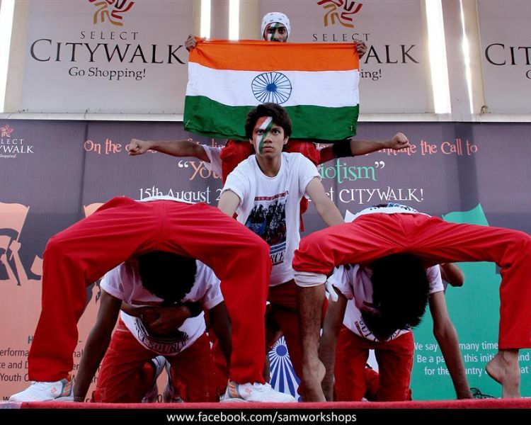 Independence day - youth of patriotism