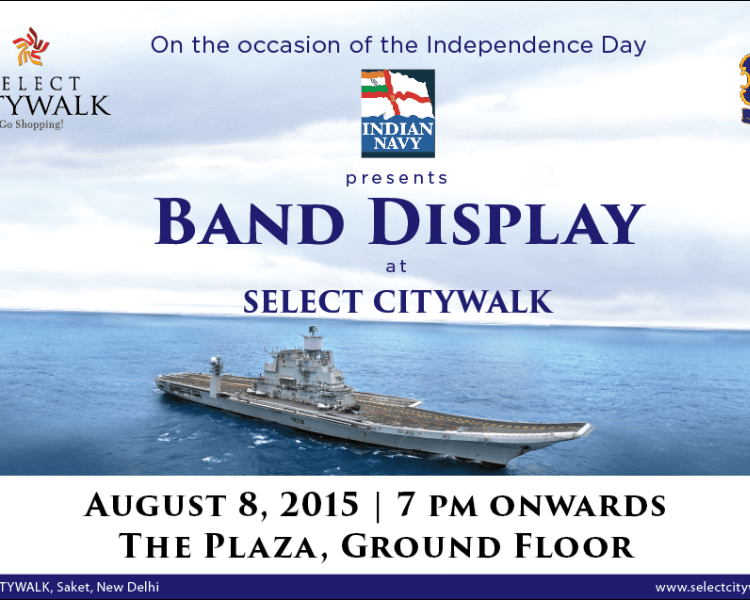 Indian Navy Band Display