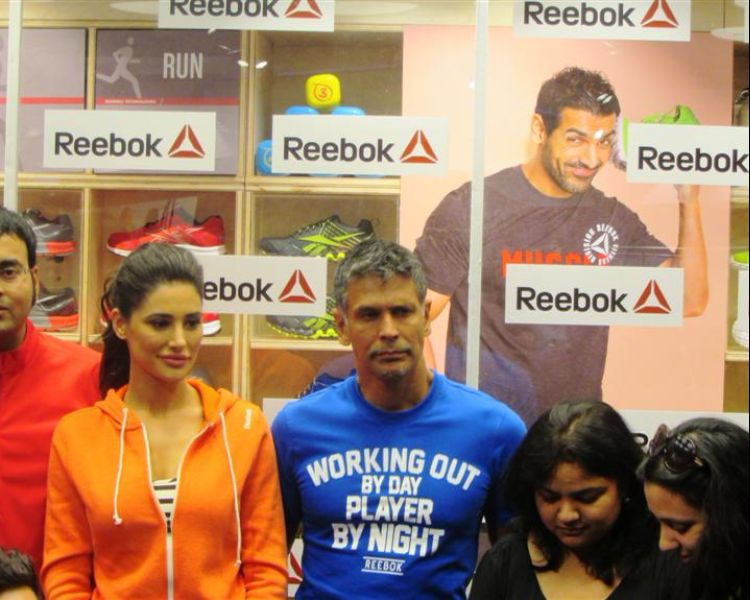 Nargis Fakhri visits Select CITYWALK for the Reebok reopening!