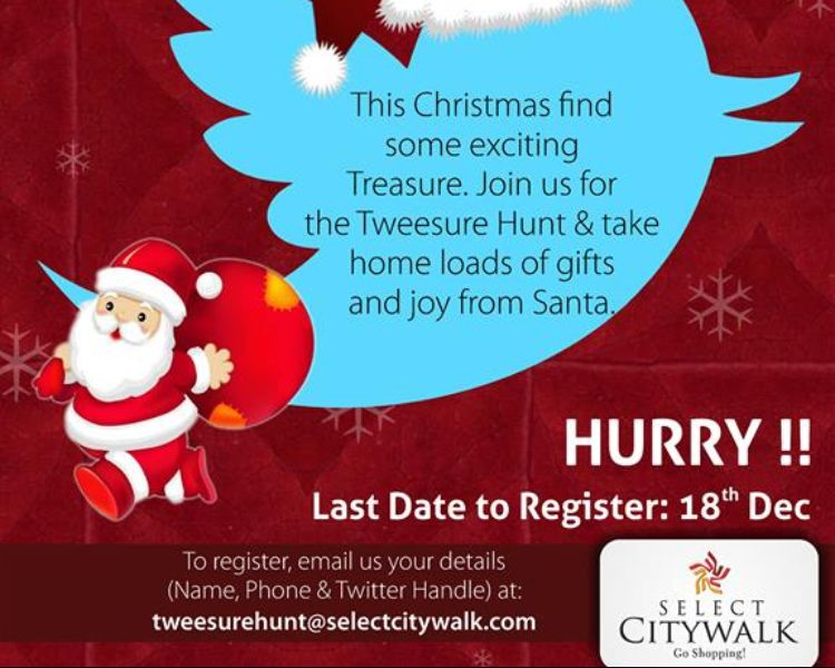 Santa's tweesure hunt