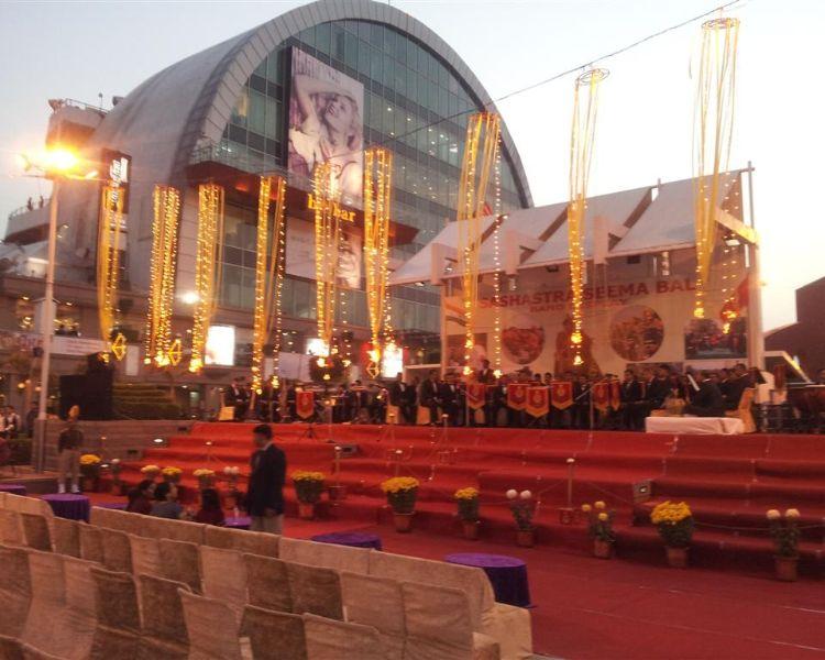 Sashastra Seema Bal Band Display