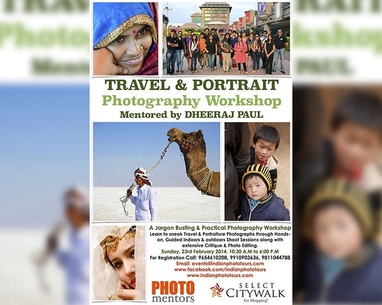 Photography Workshop Mentored by Dheeraj Paul