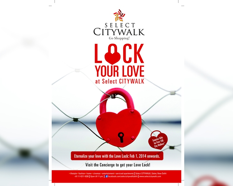 Lock Your Love At Select CITYWALK
