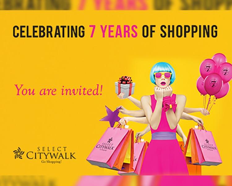 Celebrating 7 Years Of Shopping
