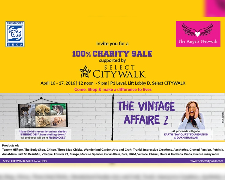 100% Charity Sale