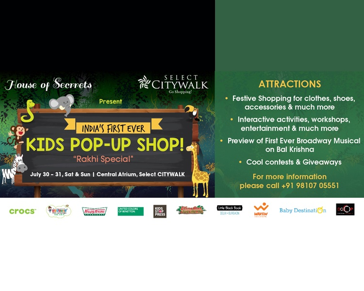 Kid pop-up Shop- Rakhi Special