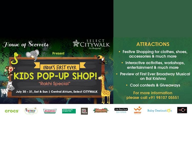 Kid pop-up Shop- Rakhi Special