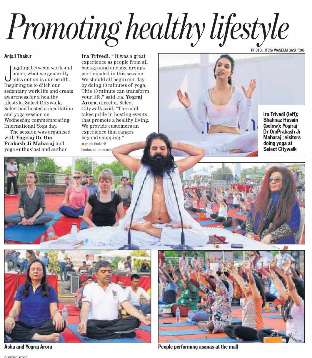 HT YOGA DAY