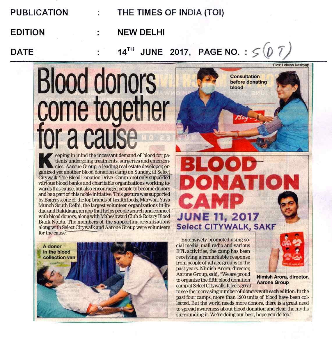 TOI-blood donation