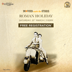 Movies Under the Stars: Roman Holiday!