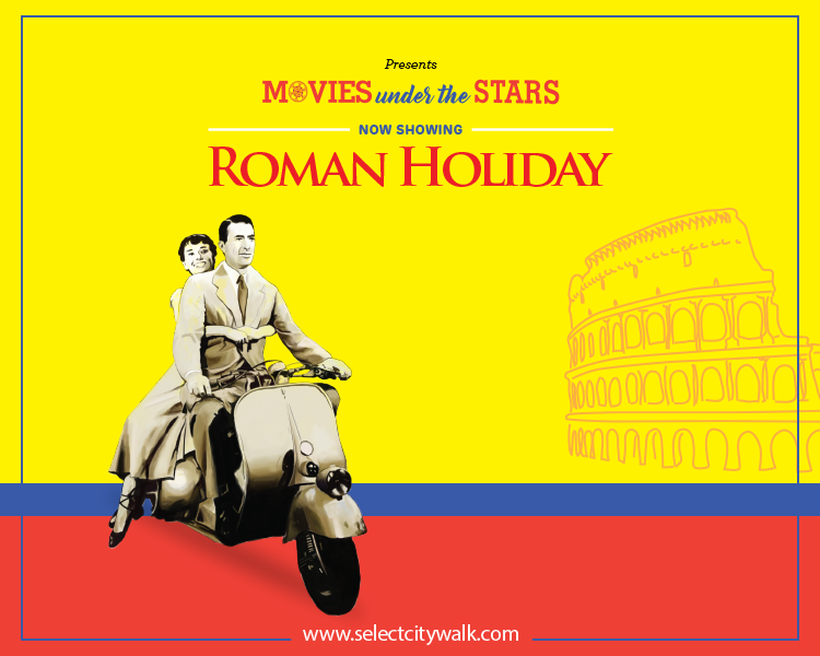 Movies Under the Stars - Roman Holiday - Select CITYWALK India