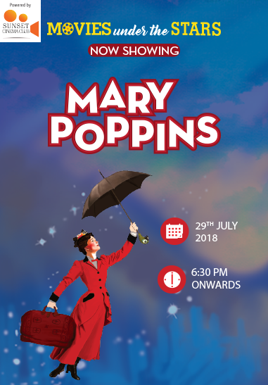 Movies Under the Stars – Mary Poppins