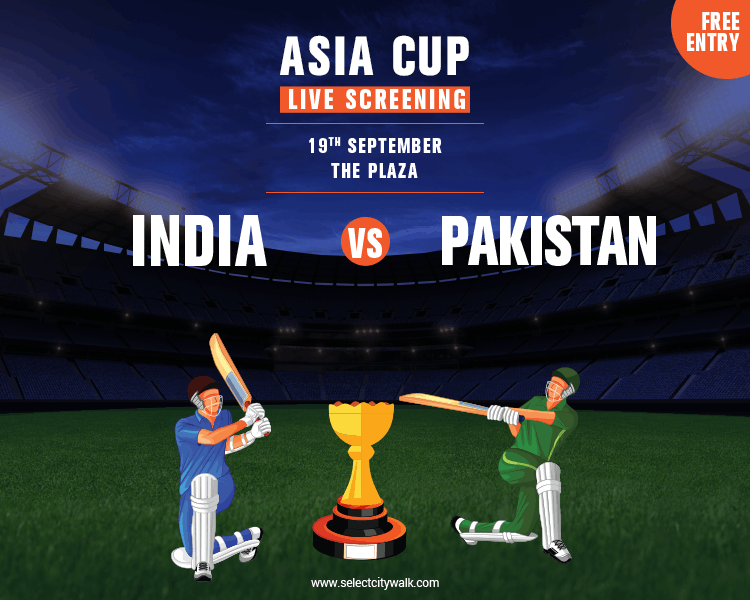 Asia Cup Live Screening
