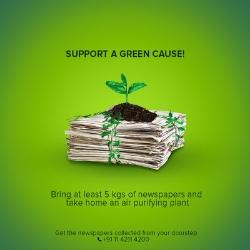 Towards greener pastures: #GreenWaliDiwali