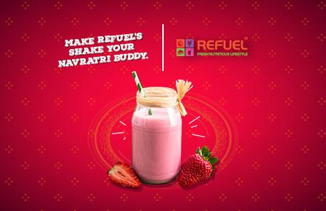 Refuel Fresh Nutritious Lifestyle