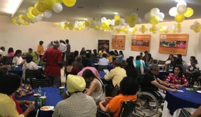 MSSI Day Out was to celebrate the brave lives of patients afflicted with multiple sclerosis. It was a humble effort to make them enjoy and forget about their health issues, also to encourage them to celebrate in spite of the health issues.