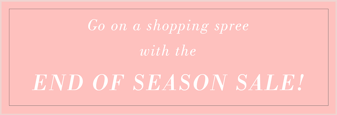Greet Monsoon With Select CITYWALK's End Of Season Sale!