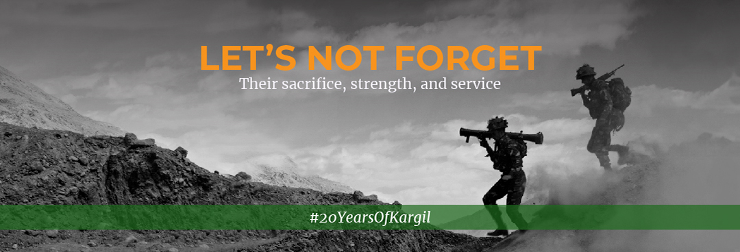 Let's Not Forget #20YearsOfKargil
