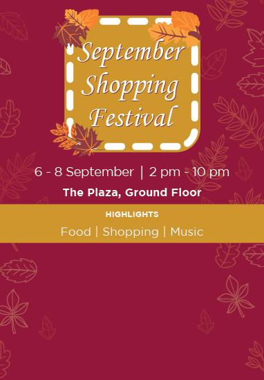 September Shopping Festival