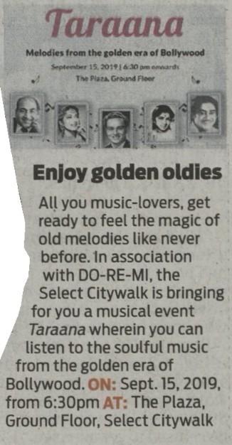 Enjoy Golden Oldies