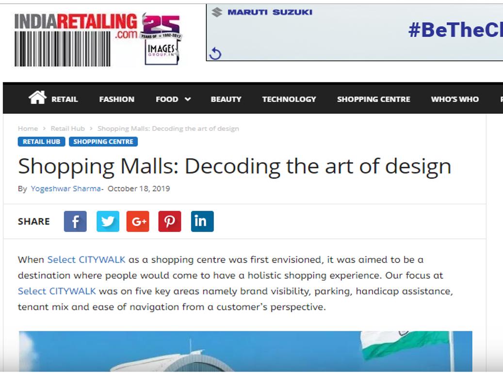 Shopping Malls: Decoding the art of design