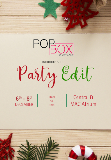 Party Edit POPBOX
