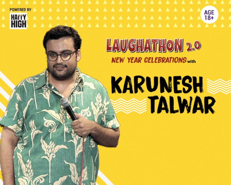 Laughathon 2.0: New year Celebrations