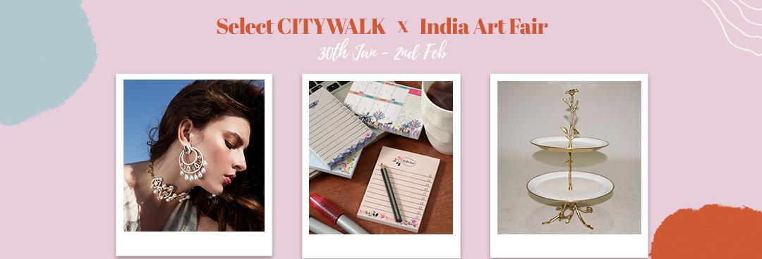 Select CITYWALK X India Art Fair