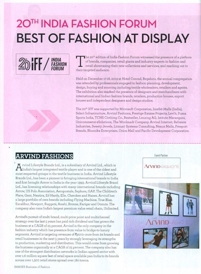 20th India Fashion Forum