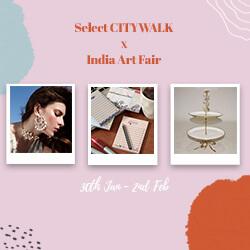 Celebrating Art Together - Select CITYWALK X India Art Fair
