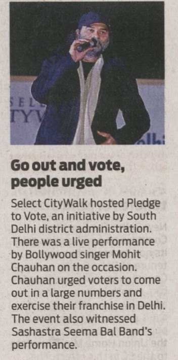 Go Out And Vote, People Urged