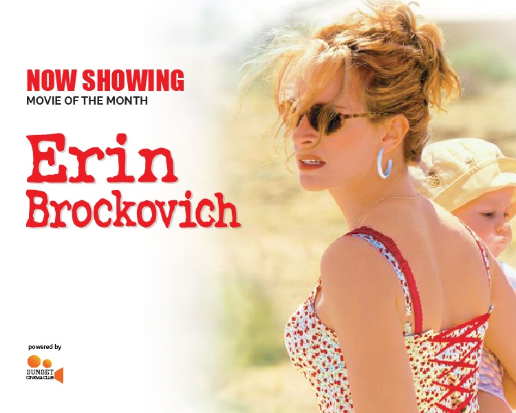 Now Showing | Erin Brockovich
