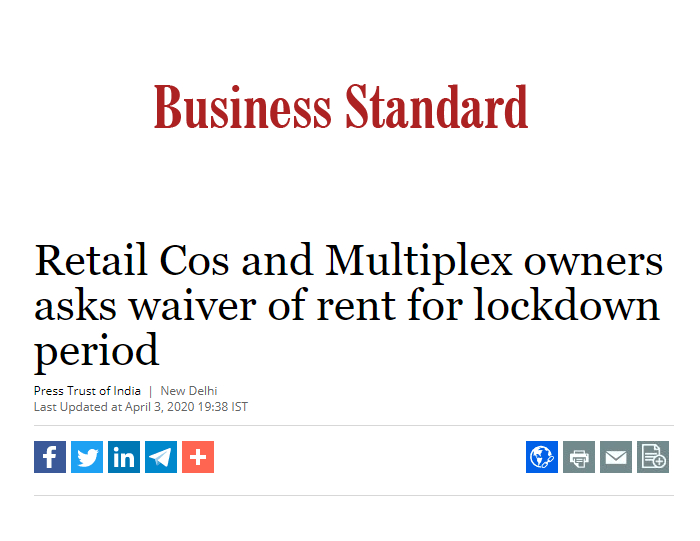 Retail Cos and Multiplex owners