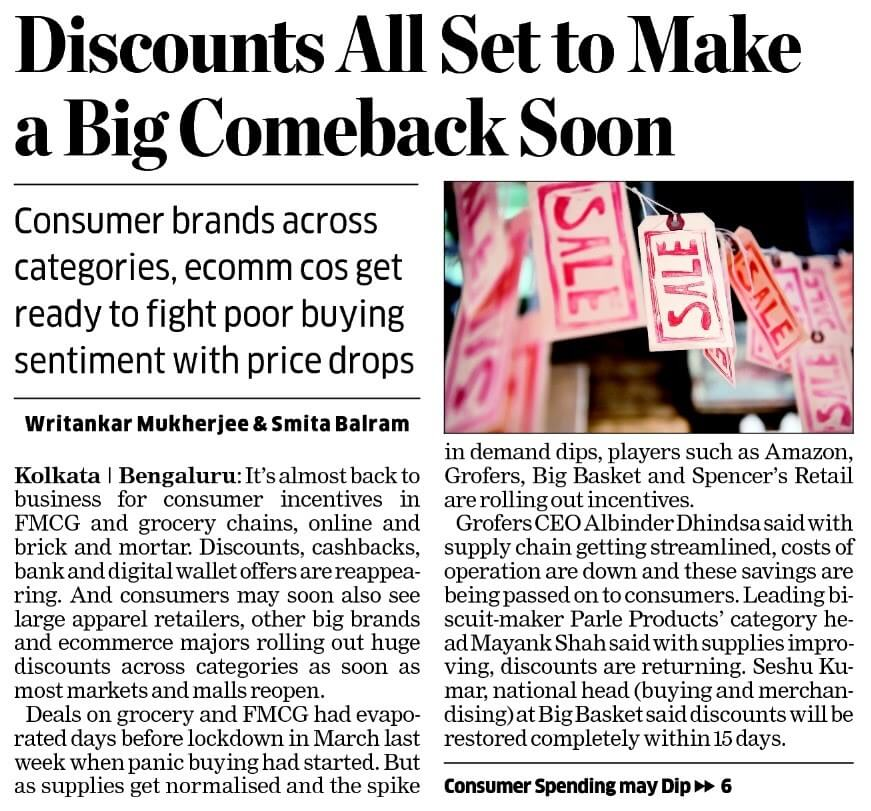 discounts all set to make a big comeback soon