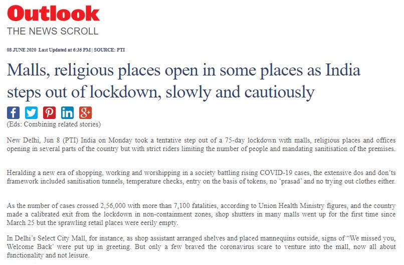 mallsOutlook India