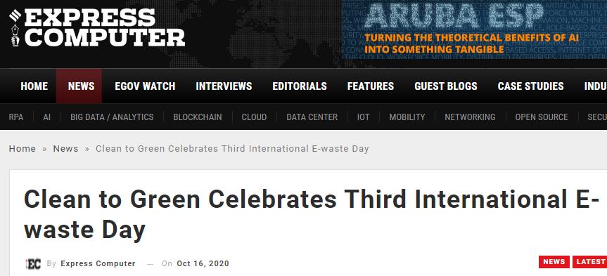 clean-to-green-celebrates-third-international-e-waste-day-expressnewa