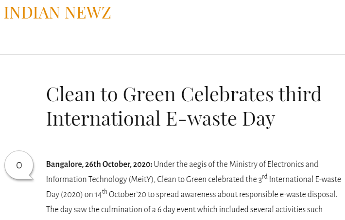 clean-to-green-celebrates-third-international-e-waste-day