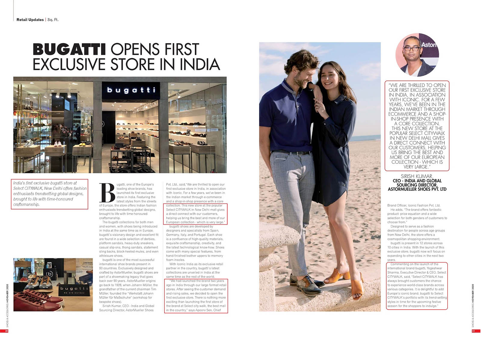 Bugatti Opens First Exclusive Store In India