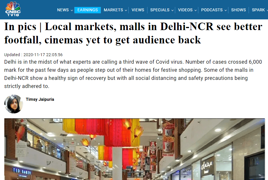 in-pics-local-markets-malls-in-delhi-ncr-see-better-footfall-cinemas-yet-to-get-audience-back