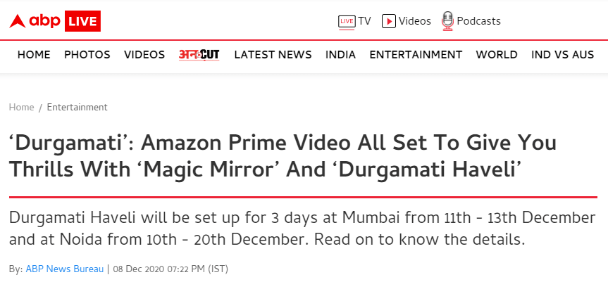 durgamati-amazon-prime-video-all-set-to-give-the-thrills-through-magic-mirror-and-durgamati-haveli