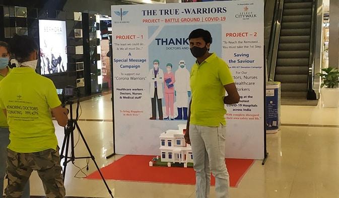 Jan Parivartan Sanstha, Project -True Warriors (NGO)