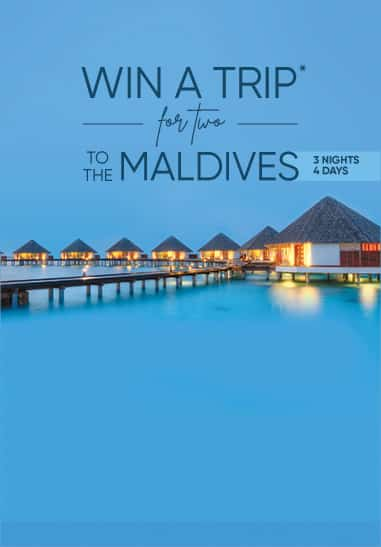 #TravelUnlocked: Win a Trip to Maldives